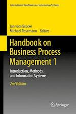 Handbook on Business Process Management 1 (International Handbooks on Information Systems)