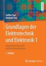 Grundlagen Der Elektrotechnik Und Elektronik 1 (Springer-lehrbuch)