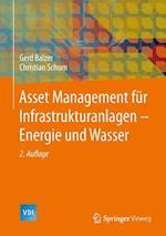 Asset Management Fur Infrastrukturanlagen - Energie Und Wasser af Christian Schorn, Gerd Balzer