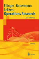 Operations Research af Theodor Ellinger