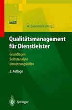 Qualitatsmanagement Fur Dienstleister