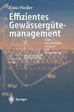 Effizientes Gewassergutemanagement af Klaus Fiedler