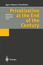 Privatization at the End of the Century af Herbert Giersch
