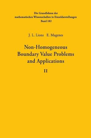 Non-Homogeneous Boundary Value Problems and Applications: Volume II
