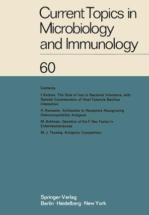 Current Topics in Microbiology and Immunology : Ergebnisse der Mikrobiologie und Immunitätsforschung