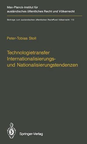Technologietransfer Internationalisierungs- und Nationalisierungstendenzen