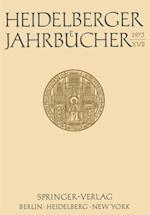Heidelberger Jahrbucher XVII