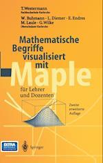 Mathematische Begriffe visualisiert mit Maple af Georg Wilke, T. Westermann, W. Buhmann