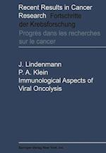Immunological Aspects of Viral Oncolysis