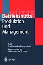 Produktion Und Management Betriebshutte (Hutte)