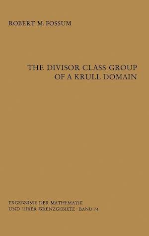 The Divisor Class Group of a Krull Domain