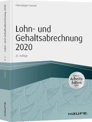 Lohn- und Gehaltsabrechnung 2020 - inkl. Arbeitshilfen online