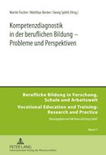 Kompetenzdiagnostik in der beruflichen Bildung - Probleme und Perspektiven af Martin Fischer