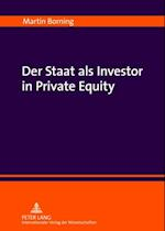 Der Staat als Investor in Private Equity