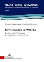 Entwicklungen im Web 2.0 af Peter Schlobinski