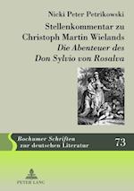Stellenkommentar zu Christoph Martin Wielands Die Abenteuer des Don Sylvio von Rosalva