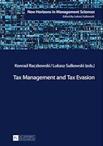 Tax Management and Tax Evasion af Konrad Raczkowski