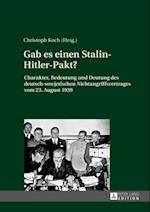 Gab es einen Stalin-Hitler-Pakt? af Christoph Koch