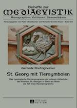 St. Georg mit Tiersymbolen af Gerlinde Bretzigheimer