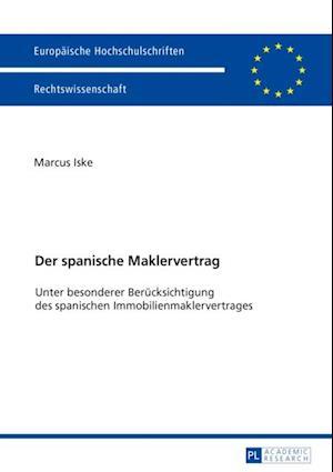 Der spanische Maklervertrag af Marcus Iske