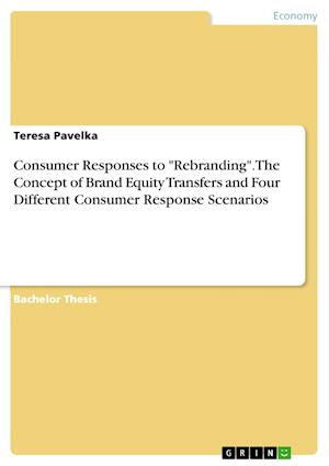 """Consumer Responses to """"Rebranding"""". The Concept of Brand Equity Transfers and Four Different Consumer Response Scenarios"""
