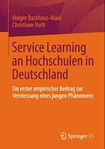 Service Learning an Hochschulen in Deutschland