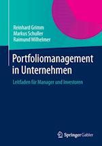 Portfoliomanagement in Unternehmen af Reinhard Grimm