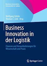 Business Innovation in Der Logistik (Business Innovation Universit T St Gallen)