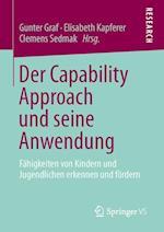 Der Capability Approach Und Seine Anwendung