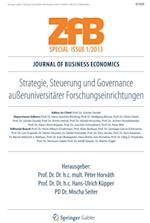 Strategie, Steuerung und Governance aueruniversitarer Forschungseinrichtungen