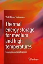 Thermal energy storage for medium and high temperatures