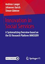 Innovative Social Services in Europe af Tom Kenter, Andreas Langer, Johannes Eurich