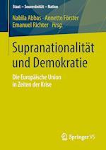 Supranationalitat Und Demokratie