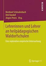 Lehrerinnen Und Lehrer an Heilpädagogischen Waldorfschulen