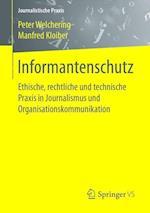 Informantenschutz (Journalistische Praxis)