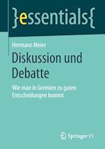 Diskussion Und Debatte af Hermann Meier