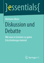 Diskussion und Debatte