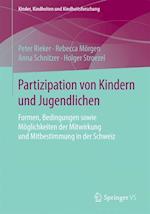 Partizipation Von Kindern Und Jugendlichen af Peter Rieker, Holger Stroezel, Rebecca Morgen