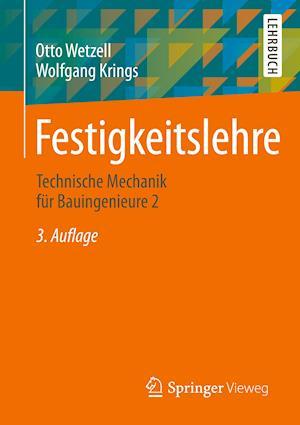 Festigkeitslehre af otto wetzell wolfgang krings bog for Statik der stabtragwerke