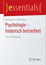 Psychologie - historisch betrachtet