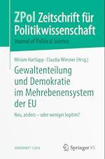 Gewaltenteilung Und Demokratie Im Mehrebenensystem Der Eu