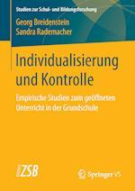 Individualisierung Und Kontrolle af Georg Breidenstein, Sandra Rademacher