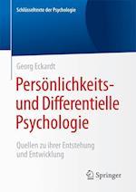 Personlichkeits- Und Differentielle Psychologie af Georg Eckardt