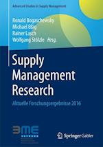 Supply Management Research (Advanced Studies in Supply Management)