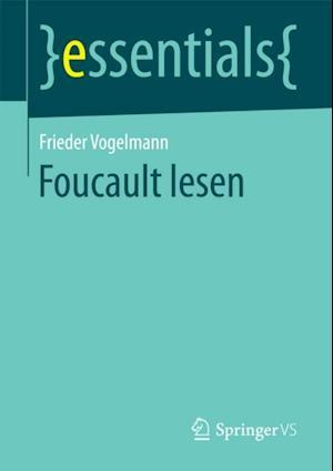 Foucault lesen af Frieder Vogelmann