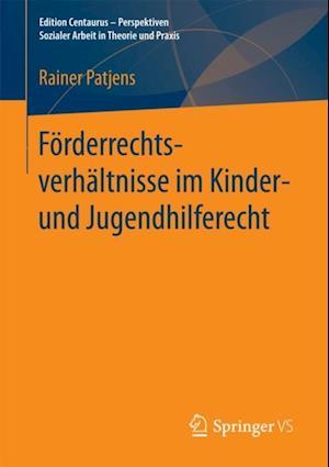 Forderrechtsverhaltnisse im Kinder- und Jugendhilferecht af Rainer Patjens