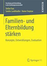 Familien- und Elternbildung starken af Rainer Treptow, Stefan Faas, Sandra Landhauer