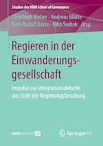Regieren in Der Einwanderungsgesellschaft (Studien Der Nrw School of Governance)