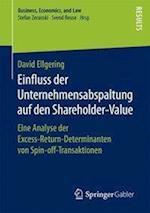 Einfluss Der Unternehmensabspaltung Auf Den Shareholder-Value (Business Economics and Law)