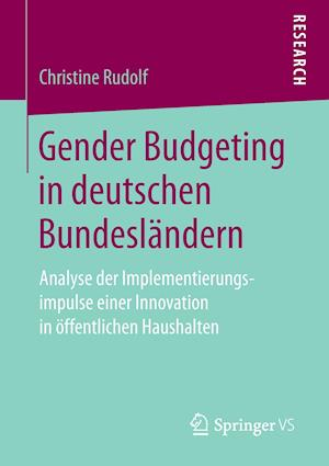 Bog, paperback Gender Budgeting in Deutschen Bundeslandern af Christine Rudolf